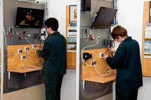 Instalace rozvodu signálu pro příjem DVB-T