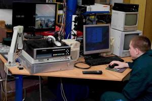 Konfigurace kamerového systému zabezpečení na PC